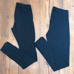 H&M Basic Black Leggings